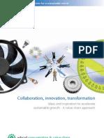 La colaboración, la innovación, la transformación de ideas y la inspiración para acelerar el crecimiento sostenible - Un enfoque de cadena de valor