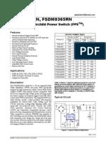 Fsdl0365, Fsdm0365rn Series