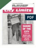 City Limits Magazine, February 1991 Issue