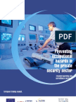 Preventing Occupational Hazards in the Private Security Sector