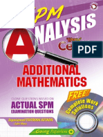 Analysis Spm Additional Mathematics