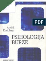 Andre Kostolany - Psihologija Burze