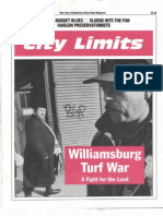 City Limits Magazine, August/September 1991 Issue