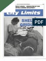 City Limits Magazine, November 1991 Issue