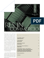 Res in Commercio 01/2012