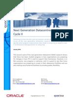 Next Generation Datacentres Index - Cycle II