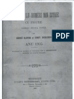 Calindaru lu rumeri din Istrie - 1905