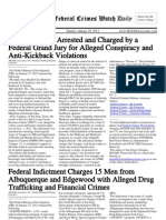 January 29, 2012 - The Federal Crimes Watch Daily
