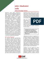 CHP BYKP - Politika Notları 1 - TUBA
