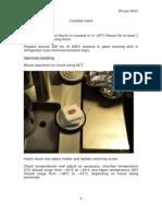 Cryostat Notes