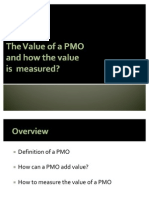 The Value of a PMO and How to Measure It.
