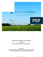 Introduction to Blue Castle Holdings and the Blue Castle Project ESP Application