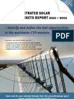 The CSP Markets Report 2011 - 2011 Sample (CSP Today)