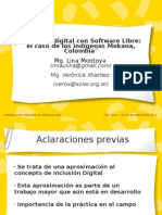 Presentacion CISL 2011