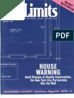 City Limits Magazine, April 1998 Issue