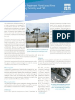 Wastewater Treatment Plant Saves Time and Money Measuring Turbidity and TSS