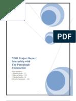 Final Report NGO Paraplegic Foundation