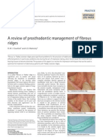 A Review of Pros Tho Don Tic Management of Fibrous Ridges