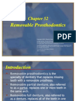 Removable Prosthodontics