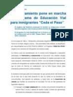 30-01-12 Actividad Municipal_ Educacion Vial Ceda El Paso