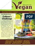 American Vegan Newsletter [Fall 2011]