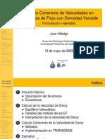 Velocidades Coherentes J Hidalgo 19-05-05
