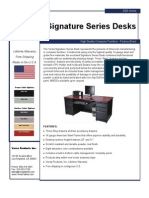 Signature Series (SSD Series) Product Flyer