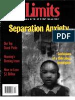City Limits Magazine, December 2000 Issue