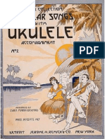 Remick Collection Popular Songs w Uke Acc. No 2 (1918)