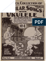 Remick Collection Popular Songs w Uke Acc. No 4 (1924)