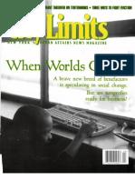 City Limits Magazine, April 2001 Issue