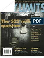 City Limits Magazine, July/August 2001 Issue