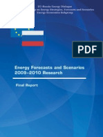 Energy Forecasts and Scenarios