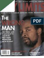 City Limits Magazine, January 2002 Issue