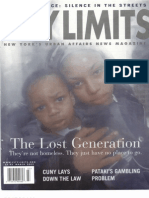 City Limits Magazine, March 2002 Issue