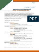 GILF2 Agenda 11.14.08