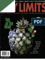 City Limits Magazine, November 2002 Issue