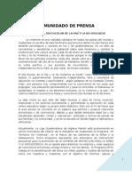 Boletin prensa 30 enero