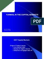 Turmoil in the Capital Markets_blakely_022908 Sloan Report