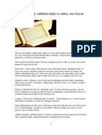 Kako je Poslanik alejhi selam učio Kur'an