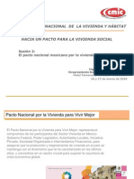 CMIC. Pacto Mexicano Vivienda. a. Garza. 2010