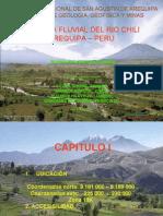 Geologia, Dinamica fluvial del rio Chili Arequipa-Peru