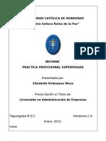 Informe Practica Profesional Admon de Empresas