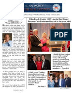 Palm Beach County GOP Newsletter - February 2012