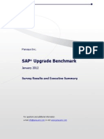 SAP Upgrade Survey 2012