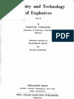 Tadeusz Urbanski- Chemistry and Technology of Explosives Volume 2