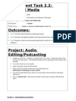 Assignment Podcasting Multimedia