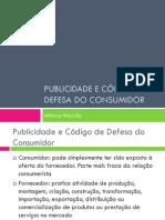 Publicidade e Código de Defesa do Consumidor