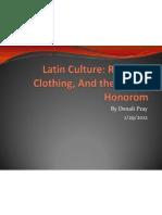 latin culture religion clothing and cursus honorum