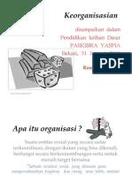 Keorganisasian